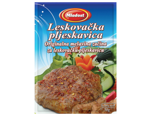 Mixture for  Leskovac  barbeque