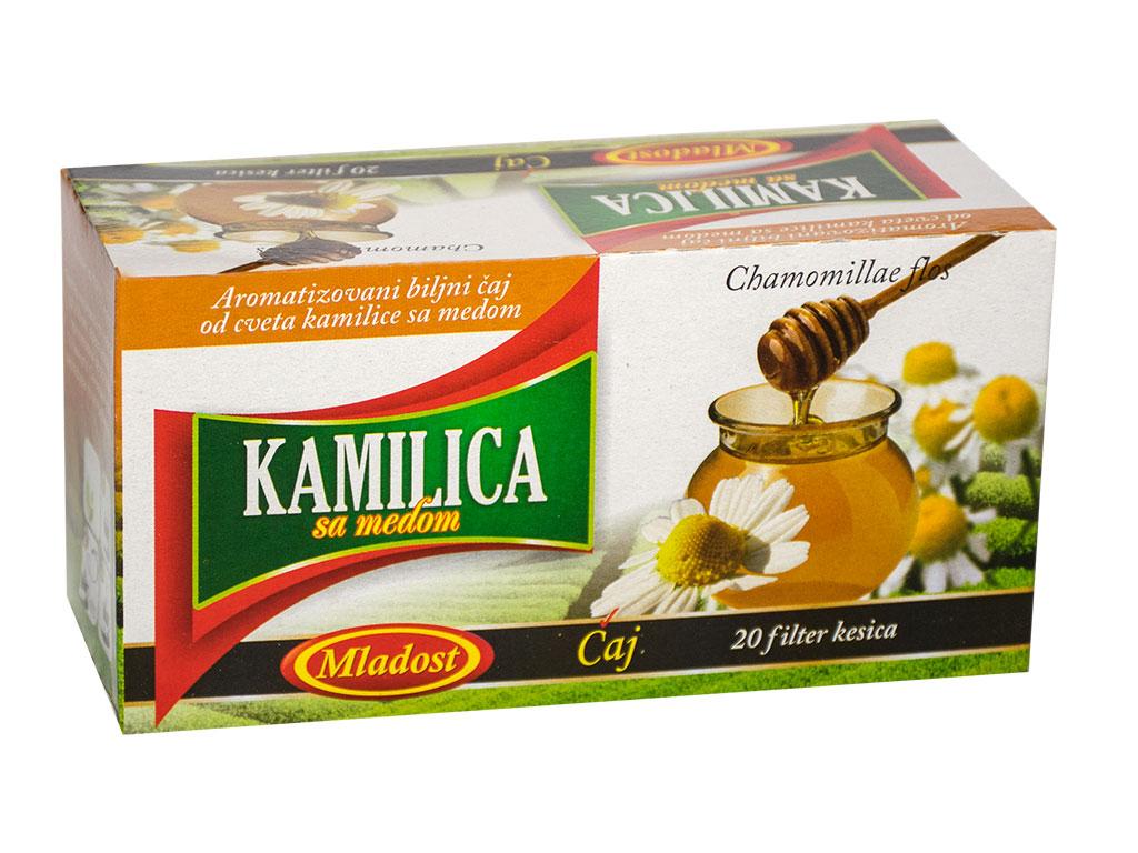 Filter čaj kamilica sa medom