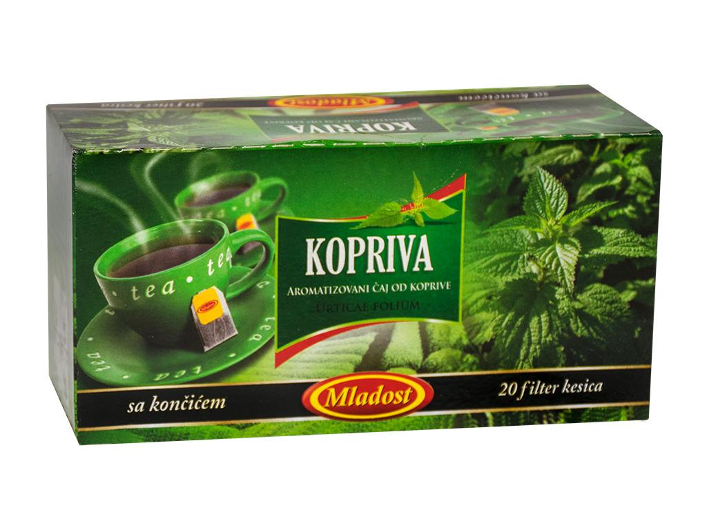 Kopriva filter čaj sa končićem