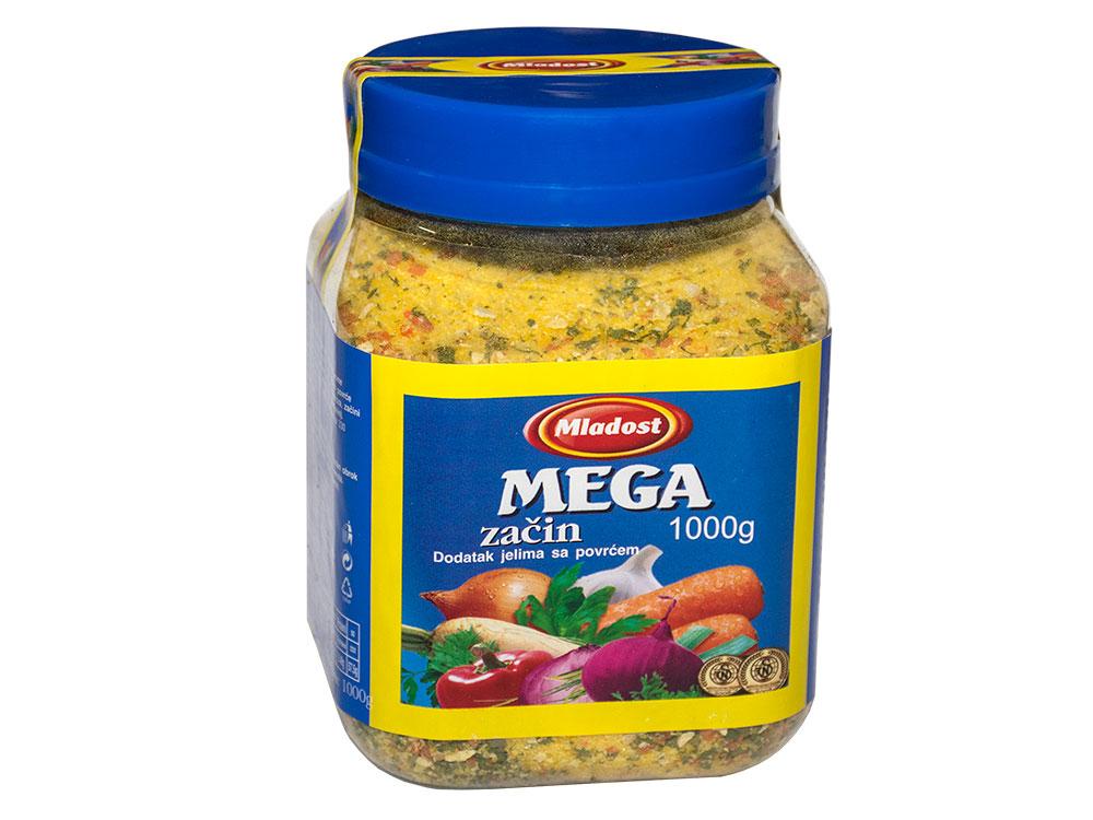 Mega začin – dodatak jelu sa povrćem, tegla 1kg