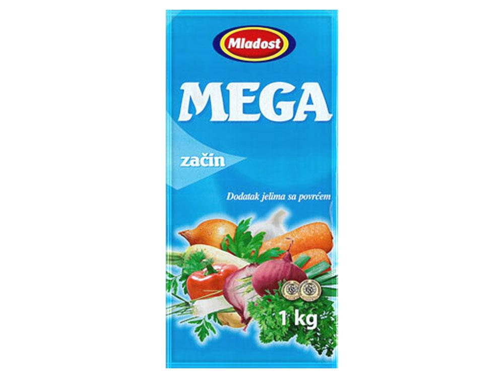 Mega začin – dodatak jelu sa povrćem, kesica 1kg