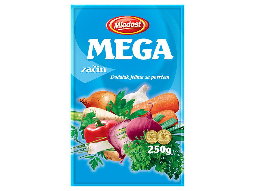 Mega začin – dodatak jelu sa povrćem, kesica 250g