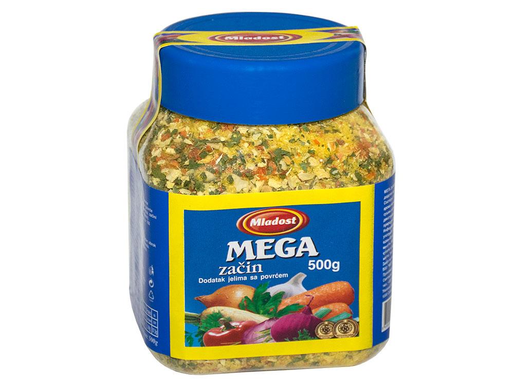 Mega začin – dodatak jelu sa povrćem, tegla 500g