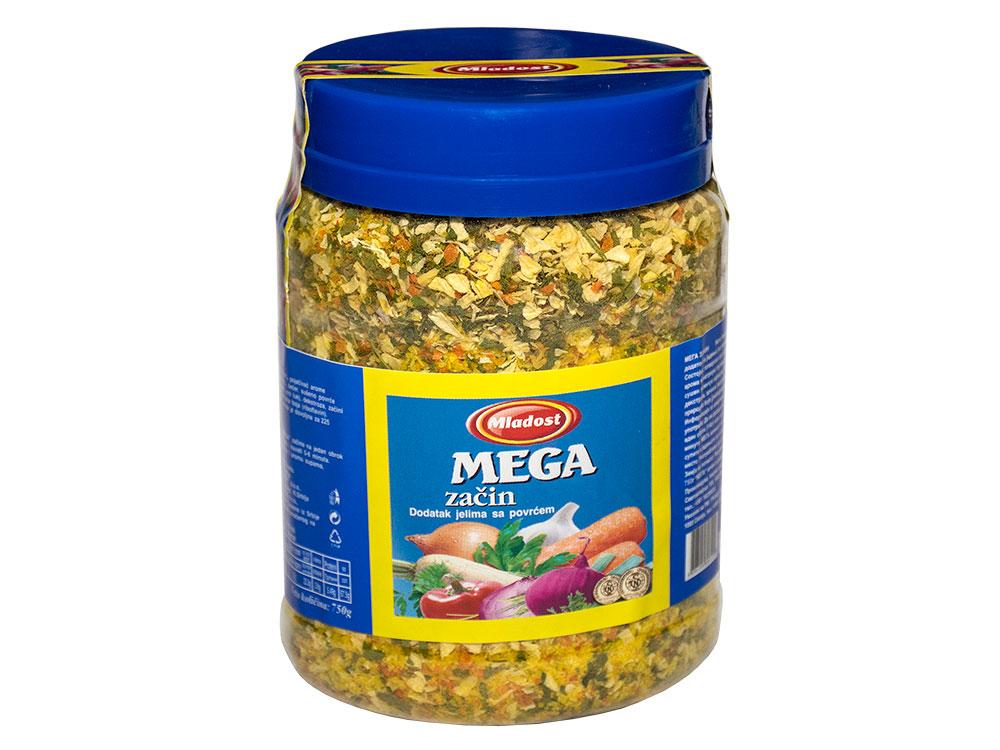 Mega začin – dodatak jelu sa povrćem, tegla 750g