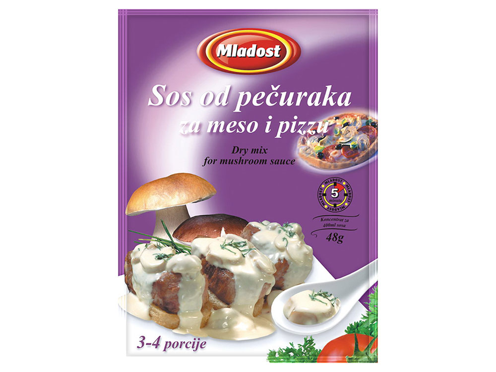 Sos od pečuraka za meso i pizzu