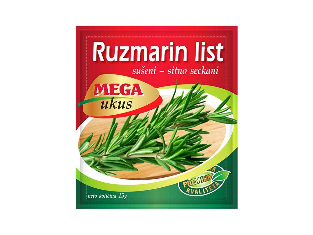 Mega ukus Ruzmarin (Rosmarinus officinalis)